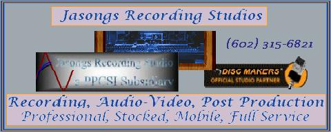 Jasongs Recording Studio - a Disc Makers Official Studio Partner