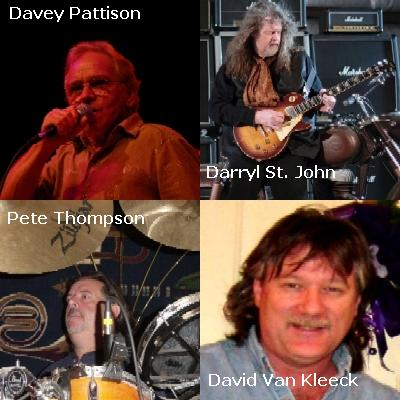 "New Release ""Event Horizon"" featuring Davey Pattison (Trower); Darryl St. John (Davey Pattison Band); Pete Thompson (Trower); David Van Kleeck (CrossTown)"